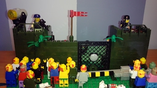 LEGO Cамоделка #5 на тему Зомби Апокалипсис (Лагерь выживших)