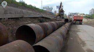 По какой технологии меняют самую длинную теплотрассу Новосибирска?