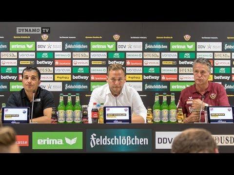 3. Spieltag   SGD - SVS   Pressekonferenz nach dem Spiel