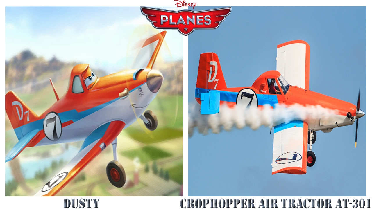 planes characters in real life youtube