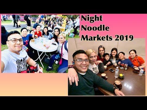 Night Noodle Markets (w/ Hubby & Filo Friends) In Sydney || Xtel RaSuL 🇵🇭🇦🇺
