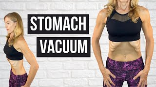 How To Do A Stomach Vacuum Properly (STRENGTHEN YOUR CORE!)