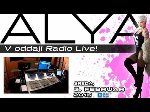 ALYA v oddaji RADIO LIVE!