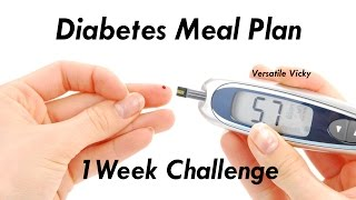 Diabetes Diet Plan / Meal Plan For Diabetics