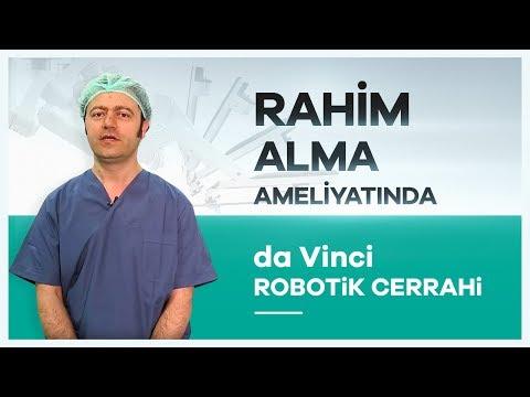 ''da Vinci Robotik Cerrahi'' Sistemiyle Rahim Alma Ameliyatı Prof. Dr. Gürkan Kıran