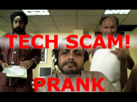TECH SCAM PRANK CALL! Another scammer got OWNED, but he loves his job!