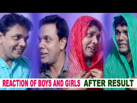 Boys and Girls Reaction after Result || Ajay Singh || Watch and Share with Friends
