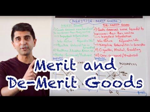 Y1/IB 24) Merit and De Merit Goods