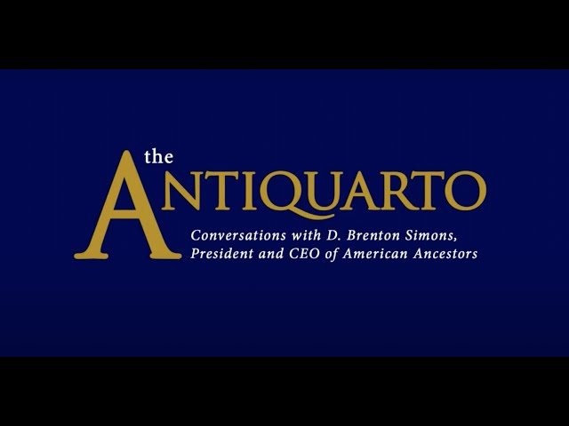 The Antiquarto, Episode 2: Interview with D. Brenton Simons, Christian Di Spigna, and J. L. Bell