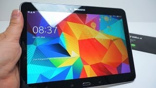 Samsung Galaxy Tab 4 10.1 Tablet Unboxing NEW 2014
