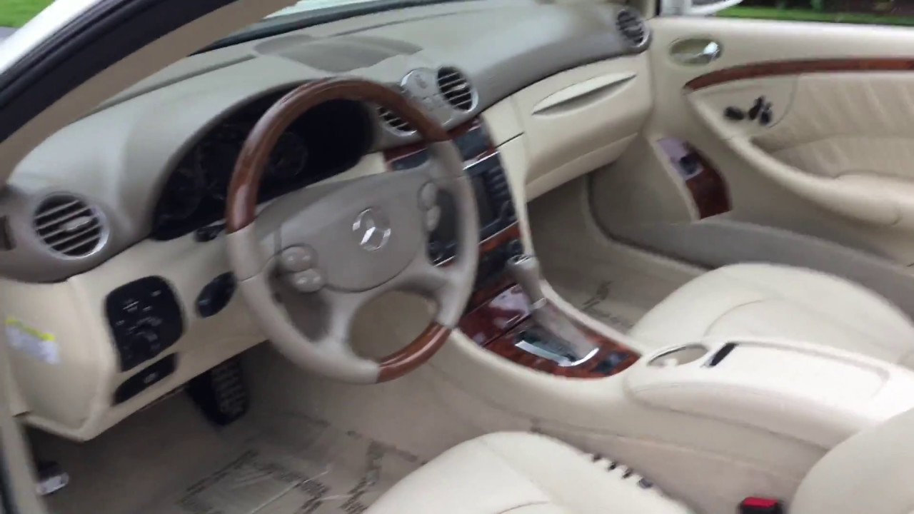 2008 mercedes benz clk550 cabriolet for sale by auto for Used mercedes benz clk convertibles for sale