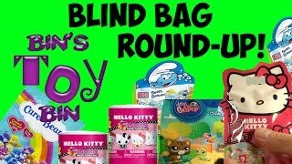 Mystery Blind Bag Round-Up! Smurfs, Hello Kitty, LPS & Care Bears Opening! by Bin
