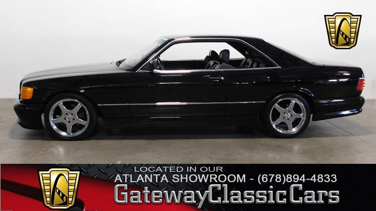 1991 Mercedes Benz 560sec - Gateway Classic Cars of Atlanta #521
