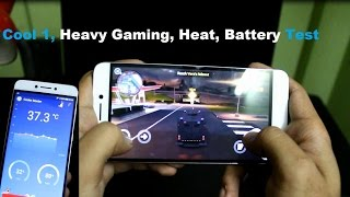 CoolPad Cool 1 Massive Gaming, NOVA 3, Gangster 4, Asphalt 8 etc, With (Battery and Heat Test)