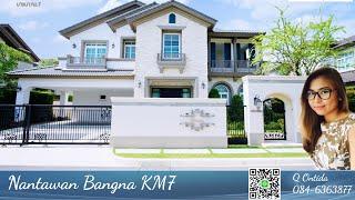 Luxury House For Rent At Nantawan Bangna Village 150,000 Baht/month