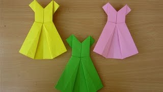How to Make a Paper Dress - Easy Tutorials