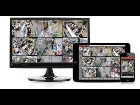 How to Connect CCTV Camera to a Smart Phone or Tablet (HIK Vision)