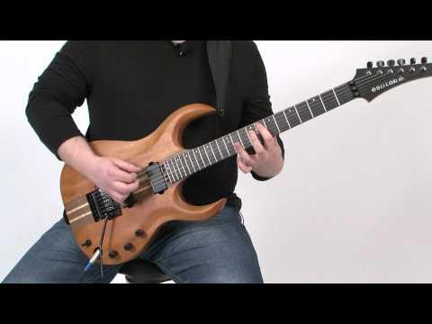 Lick of the Day - Dave Reffett - 80's Metallica-style Riff