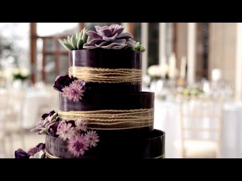 MampS Wedding Wedding Cake Decorating YouTube