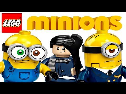Lego Minions 2020 - ИЗОБРАЖЕНИЯ наборов   Миньоны от Лего!