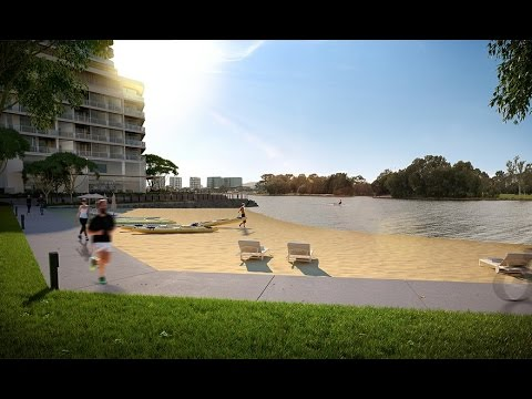 Waterbank Trailer  New Apartments East Perth