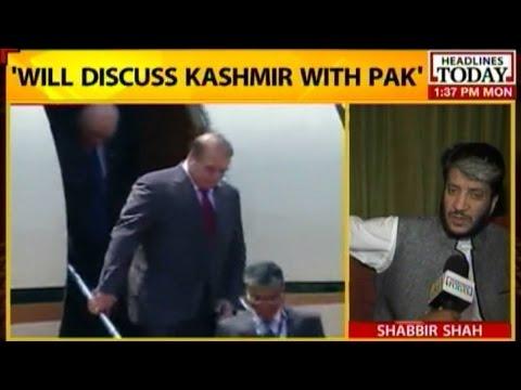 Hurriyat leader: Will discuss Kashmir with Pakistan