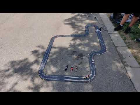 Carrera Slot car set – test run