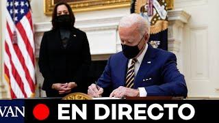 DIRECTO: Biden anuncia sus planes para combatir el cambio climático
