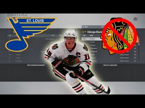 What IF The Blues Drafted Johnathan Toews instead of Erik Johnson? NHL 18