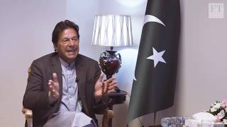 Imran Khan blames crisis on Indian electioneering | FT Interview