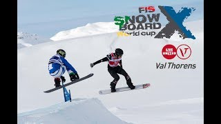 Snowboard cross World cup - Coupe du monde 2018 - Val Thorens