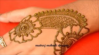 Mehndi Designs For Hands-Henna Designs-Mehndi Designs