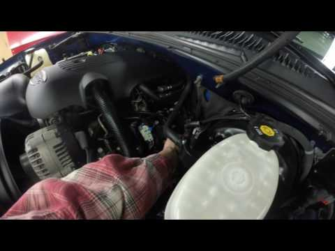 Under the Hood 03 Chevy Silverado Longitudinal Engine