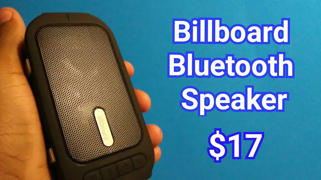 Unboxing The Billboard Water Resistant Wireless Speaker!