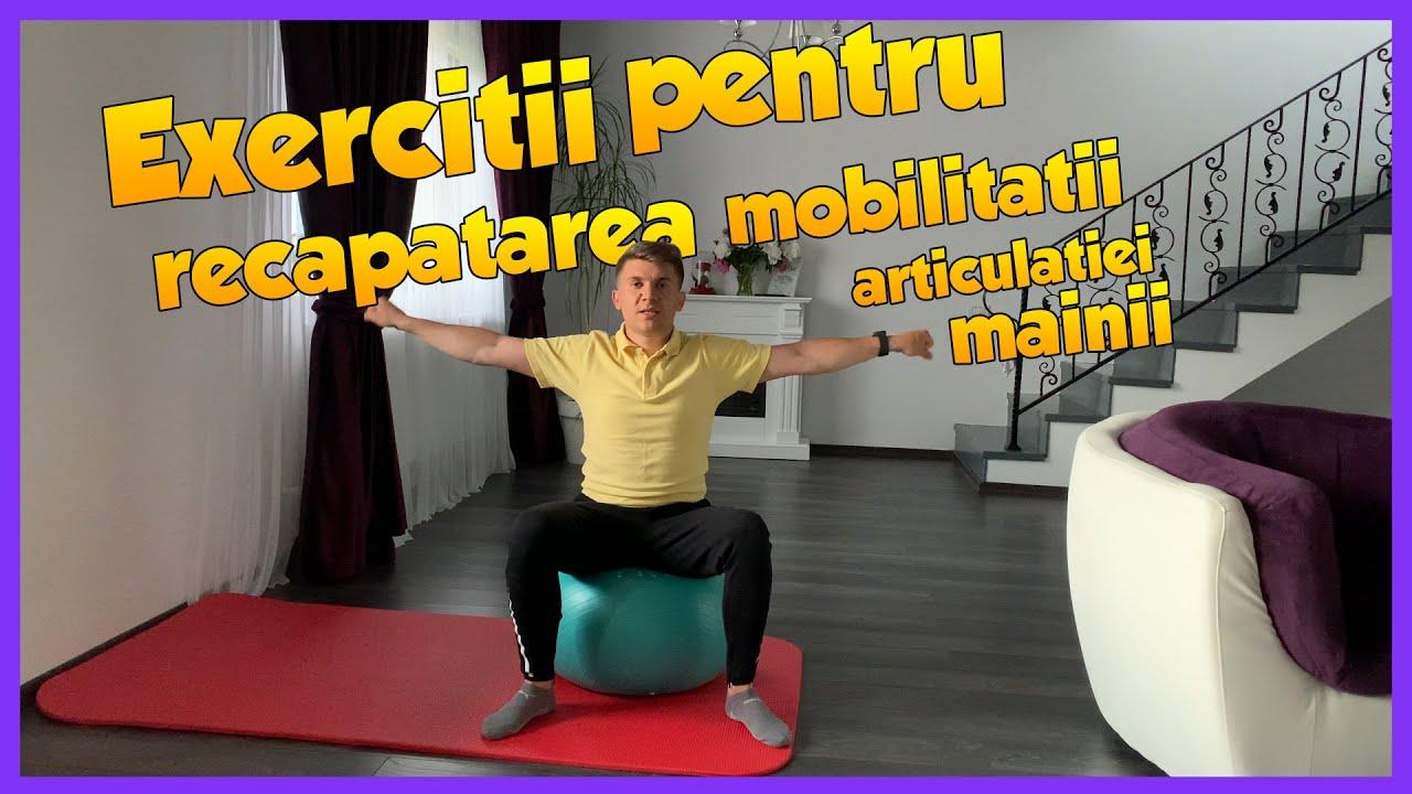 exerciții pentru durerea articulației mâinii