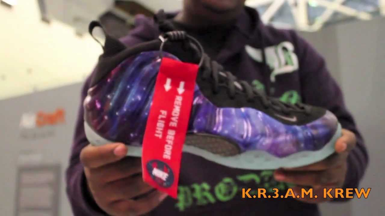 3bb8def5e0f Galaxy Foamposite Review - YouTube