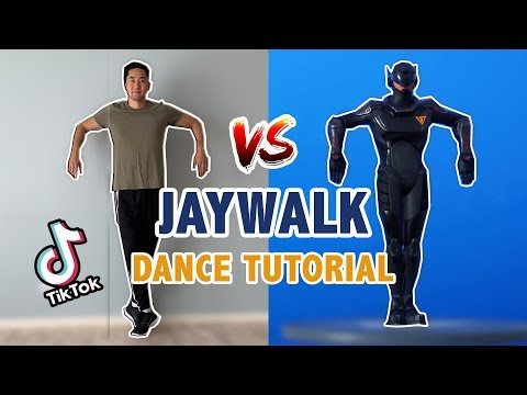 How To Do The Jaywalk (Full Step By Step Tutorial) | EASY Dance Tutorial