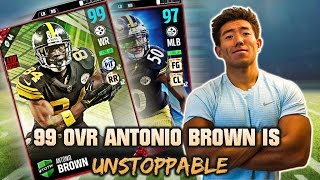 NEW 99 OVR ANTONIO BROWN IS UNSTOPPABLE! SCAR...