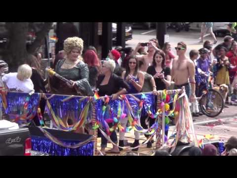 Burlington, Vermont PRIDE Parade 2015