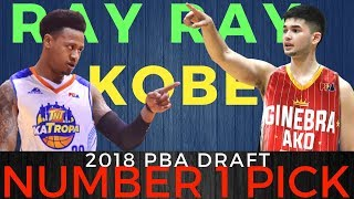 Kobe Paras o Ray Parks Jr -  2018 PBA Draft Forecast