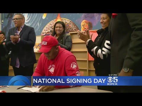 Oakland McClymonds High School Football Star Lands Scholarship To UNLV