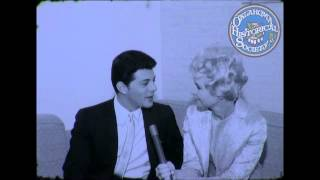 Frankie Avalon Interview. 1966 (Shot in late Janurary and aired in Feburary 1966).