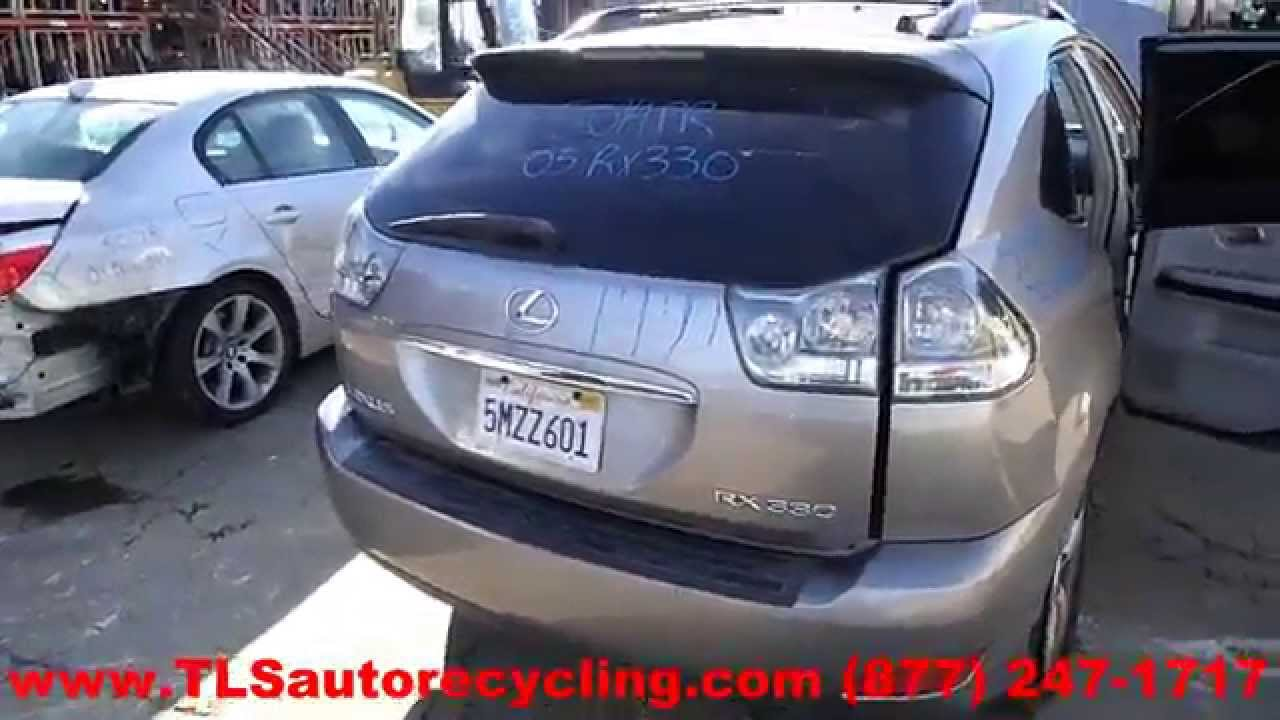 2005 Lexus Rx330 Parts For Sale - Save Up To 60