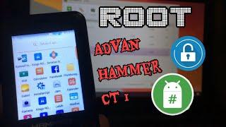 Cara Root Advan S5E Tanpa PC.