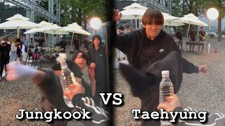 Jungkook vs Taehyung / Funny Skill Differencies (Part 2)