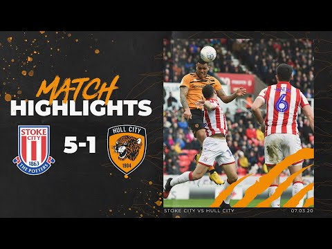 Stoke City 5-1 Hull City | Highlights | Sky Bet Championship