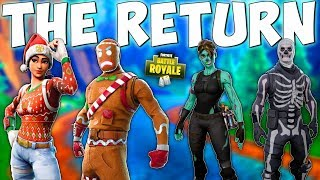 A VERY SAD DAY FOR OG PLAYERS in Fortnite Battle Royale (Holiday Skins Returning)