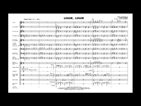 Louie, Louie by Richard Berry/arr. by Paul Lavender