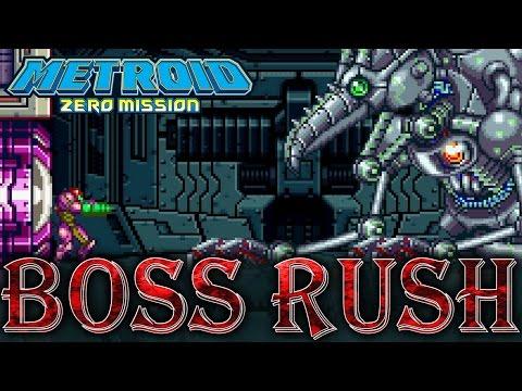 Metroid: Zero Mission - All Bosses + Ending