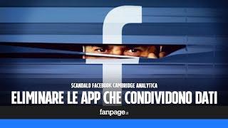 Dopo lo scandalo di Facebook e Cambridge Analitica, è il momento di disconnettere le app